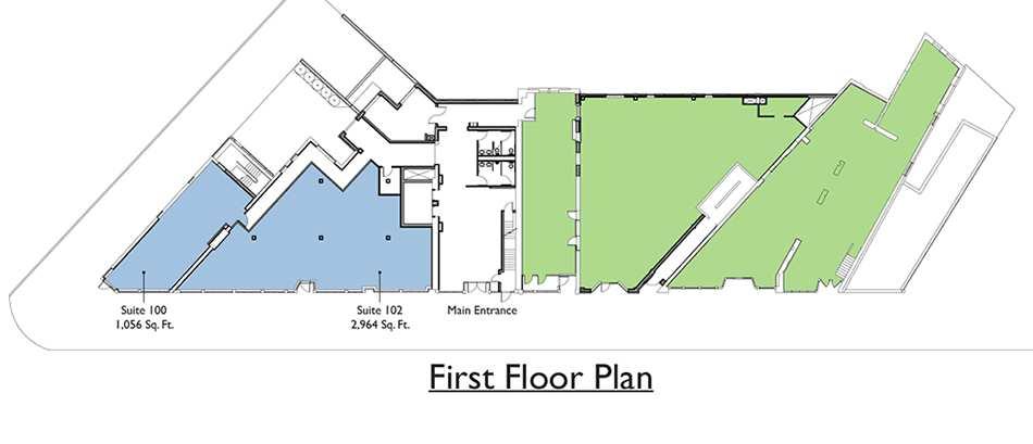 Commercial - 1st Floor Plan
