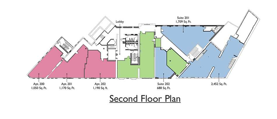 Commercial - 2nd Floor Plan