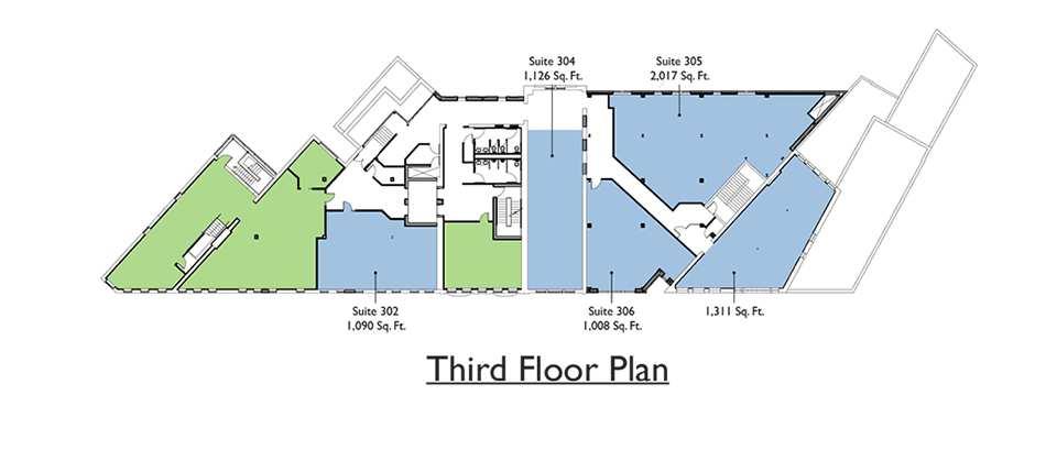 Commercial - 3rd Floor Plan