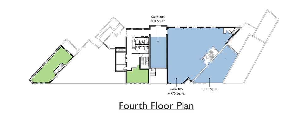 Commercial - 4th Floor Plan