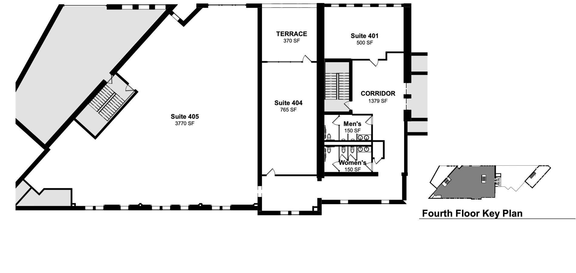 Suite-401-404-405 and Corridor